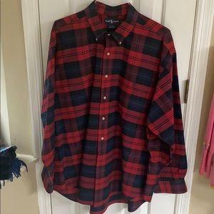 Ralph Lauren Men's dress shirt Size XL-BIG